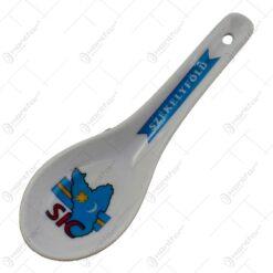 """Suport pentru lingura realizat din ceramica - Design """"Szekelyfold"""""""