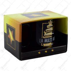 Cana Big Boss in cutie decorativa - La multi ani dragul meu!