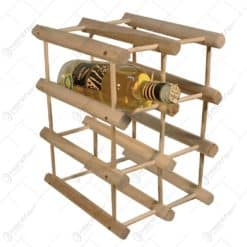 Raft din lemn pentru depozitarea vinurilor