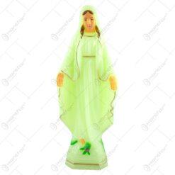 Statueta realizata din material plastic fosforescent - Sfanta Maria (25 cm)