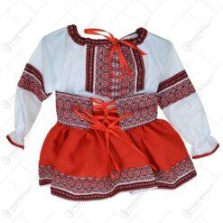 Costum traditionaa pentru fetite ( Model 2)