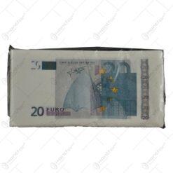 Servetele nazale realizate din hartie - Design 20 Euro
