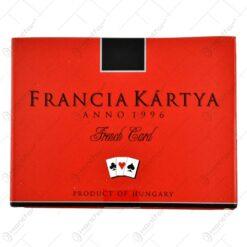 Carti de joc - Francia kartya (Model 2)