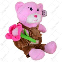 Jucarie de plus - Ursulet cu floare (Model 1)