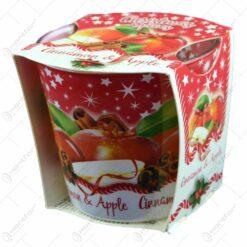 Lumanare parfumata de Craciun in pahar - Christmas Spices