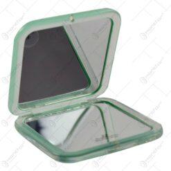 Oglinda portabila pentru machiaj. realizata din material plastic - Diferite culori