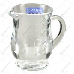 Cana gradata realizata din sticla