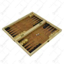 Joc sah/table realizat din lemn (Model 8)