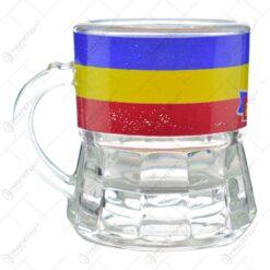 Pahar realizat din sticla pentru lichior/snaps - Design Romania