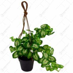 Plante artificiale in ghiveci suspendat