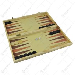 Joc sah/table realizat din lemn (Model 5)