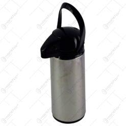 Termos realizat din inox cu pompa de plastic