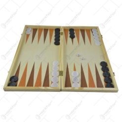 Joc sah/table realizat din lemn (Model 6)