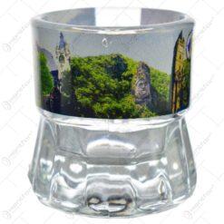 Pahar pentru lichior/snaps realizat din sticla - Design Romania