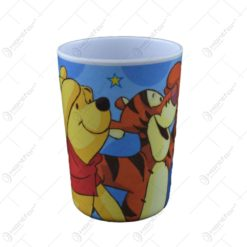 Pahar realizat din plastic melamin - Design Winnie The Pooh