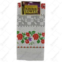 Prosop pentru bucatarie - Design traditional cu flori - Diverse modele