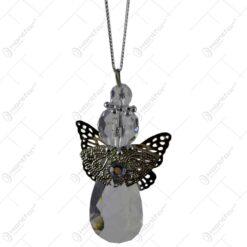 Ornament pentru bradul de Craciun realizat din cristal - Ingeras - Diverse modele