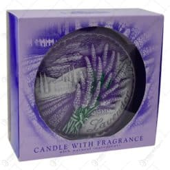 Lumanare parfumata in forma de disc - Design Lavender Boutique