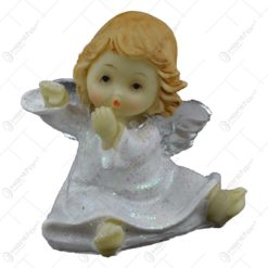 Figurina decorativa realizata din rasina - Inger ingenunchiat (Diverse modele)
