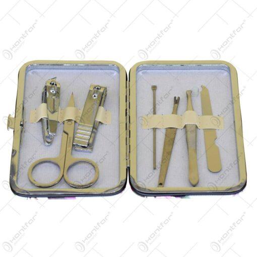 Set pentru manichiura 7 piese - Diverse modele (Model 2)