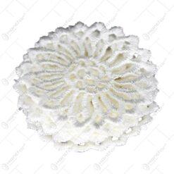 Set 8 ornamente pentru decoratiuni crosetate din material textil