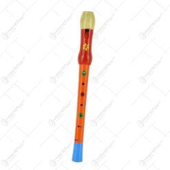Fluier realizat din lemn - Design Traditional - Diferite culori - Mic