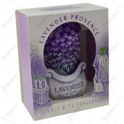 Lumanare parfumata in forma de buchet de lavanda - Design Lavender Boutique
