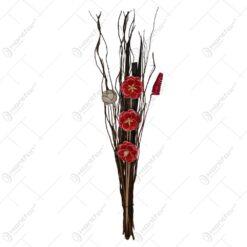 Decoratiune din plante uscate - Mare (Model 1)
