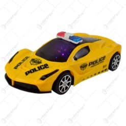 Masina de politie cu efecte luminoase 3D