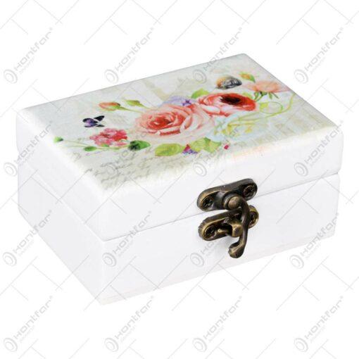 Cutie pentru bijuterii - Design floral - Diverse modele (Model 1)