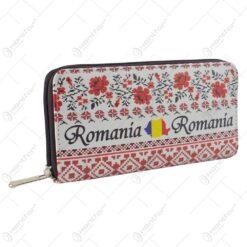Portofel realizat din piele artificiala - Design Romania