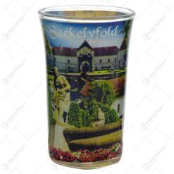 Pahar tip shot realizat din sticla - Design Szekelyfold