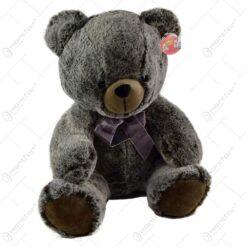 Ursulet realizat din plus - Design cu panglica - 2 modele (Model 1)