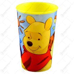 Pahar realizat din material plastic - 270 ml - Design Winnie the Pooh