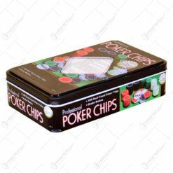 Set joc poker 100 de piese (Model 2)