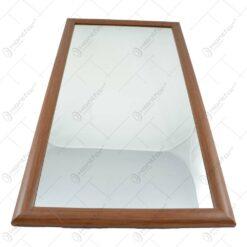 Oglinda cu rama din lemn - Diferite culori (30x60 CM)