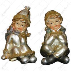 Figurina realizata din ceramica - Diferite modele - Baiat / Fetita