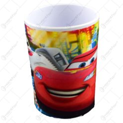 Pahar pentru copii realizat din melamina - Design Cars