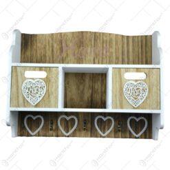 Cuier cu sertare realizat din lemn - Design Home
