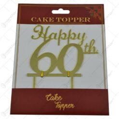 Ornament pentru tort realizat din plastic - Diverse modele pentru nunta si zi de nastere