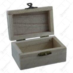 Cutie pentru zestre realizata din lemn / Design elegant