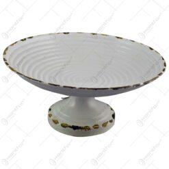 Platou pentru servire realizat din metal - Design Craciun