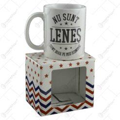 Cana Boss Mug - Nu sunt lenes. sunt doar pe mos economic
