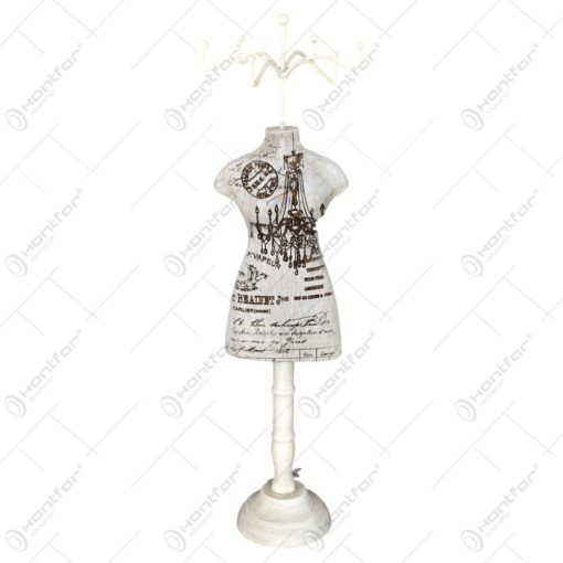 Suport pentru bijuterii tip manechin - Design vintage