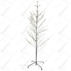 Copac decorativ cu leduri realizat din mmeta si plastic (150 CM)