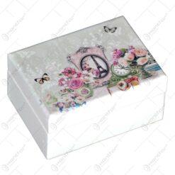 Cutie pentru bijuterii - Trandafir