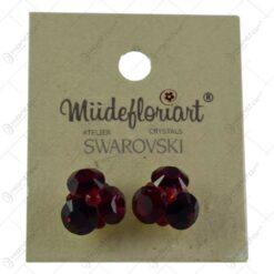 Cercei cu cristale Swarovski - Diverse culori