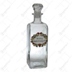 "Sticla pentru bauturi dotata cu dop - ""Boldog nevnapot"" / ""Boldog szuletesnapot"" - 2 modele"