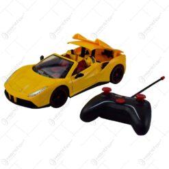 Masina sport cu telecomanda - Galben