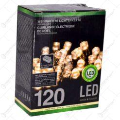 Instalatie de craciun cu 120 leduri - Cu lumina calda